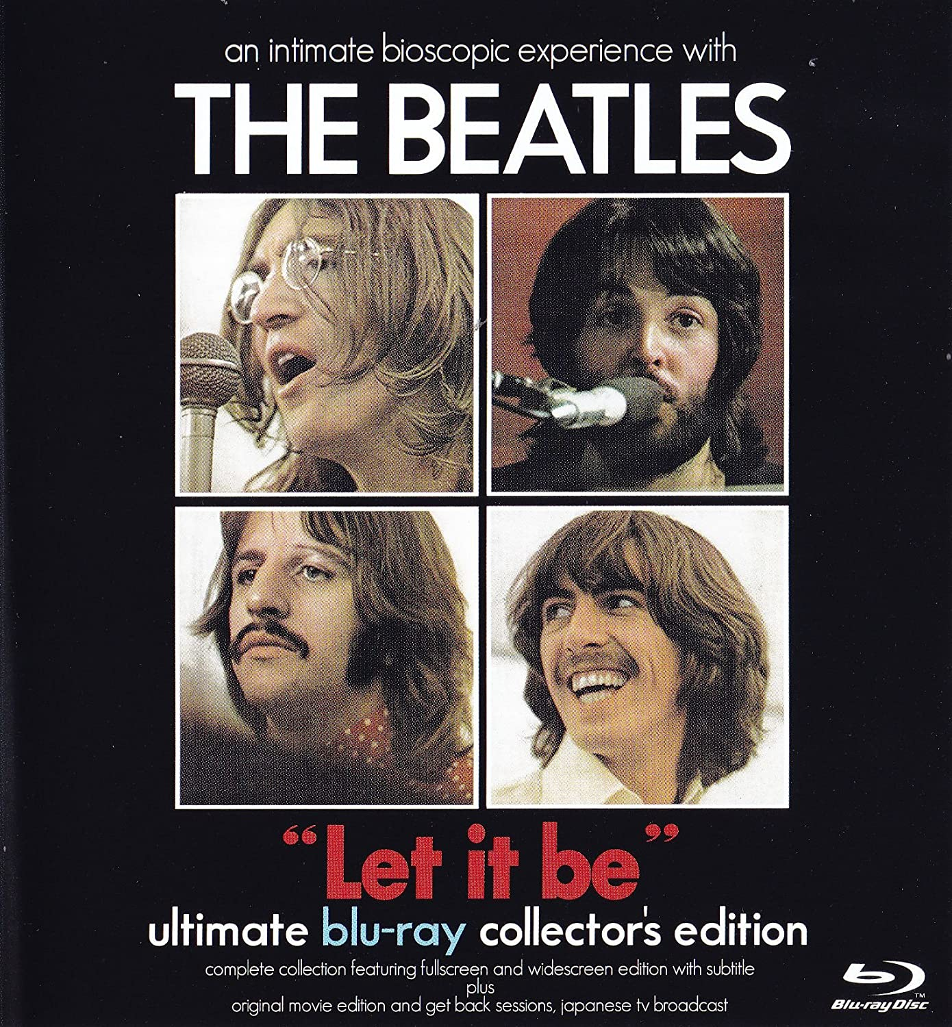 Amazon.com: The Beatles Let it be Blu Ray 2 Discs: The Beatles: Movies & TV