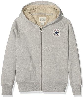43552d60985f Converse Boy s Sherpa Hoodie  Amazon.co.uk  Clothing