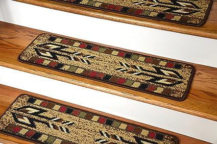 Dean Premium Carpet Stair Treads   Santa Fe Beige 31u0026quot; X 9u0026quot; ...