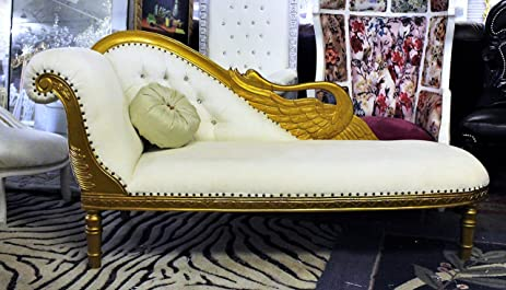 padded bedroom cotton org elegant l chairs furniture white musicagainstviolence lounge chaise gold for