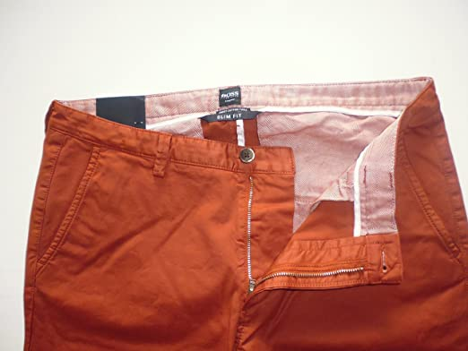 Hugo Boss - Pantalones para Hombre, Hombre Essential óxido ...