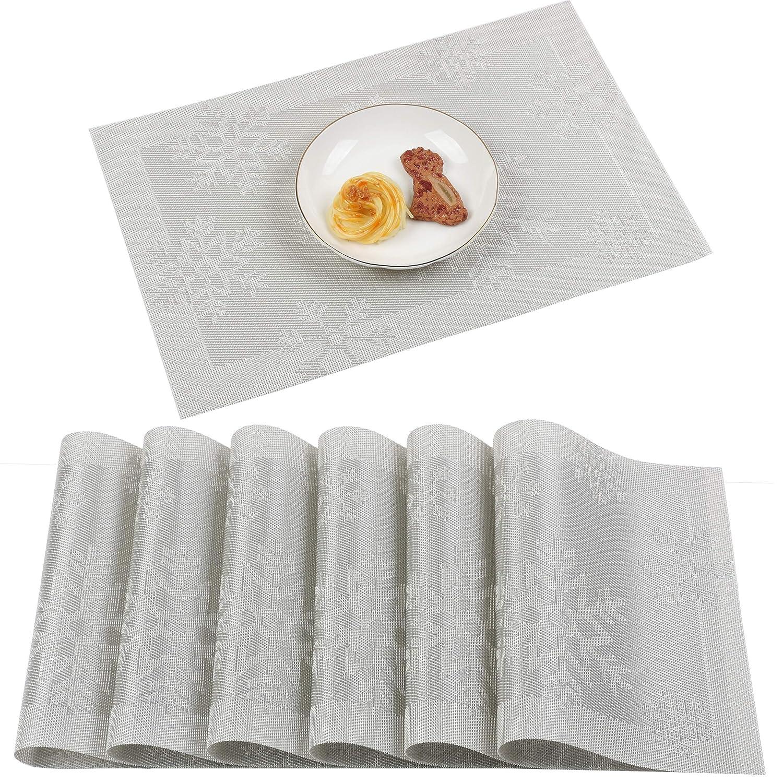 Famibay Sets de table lavables en PVC