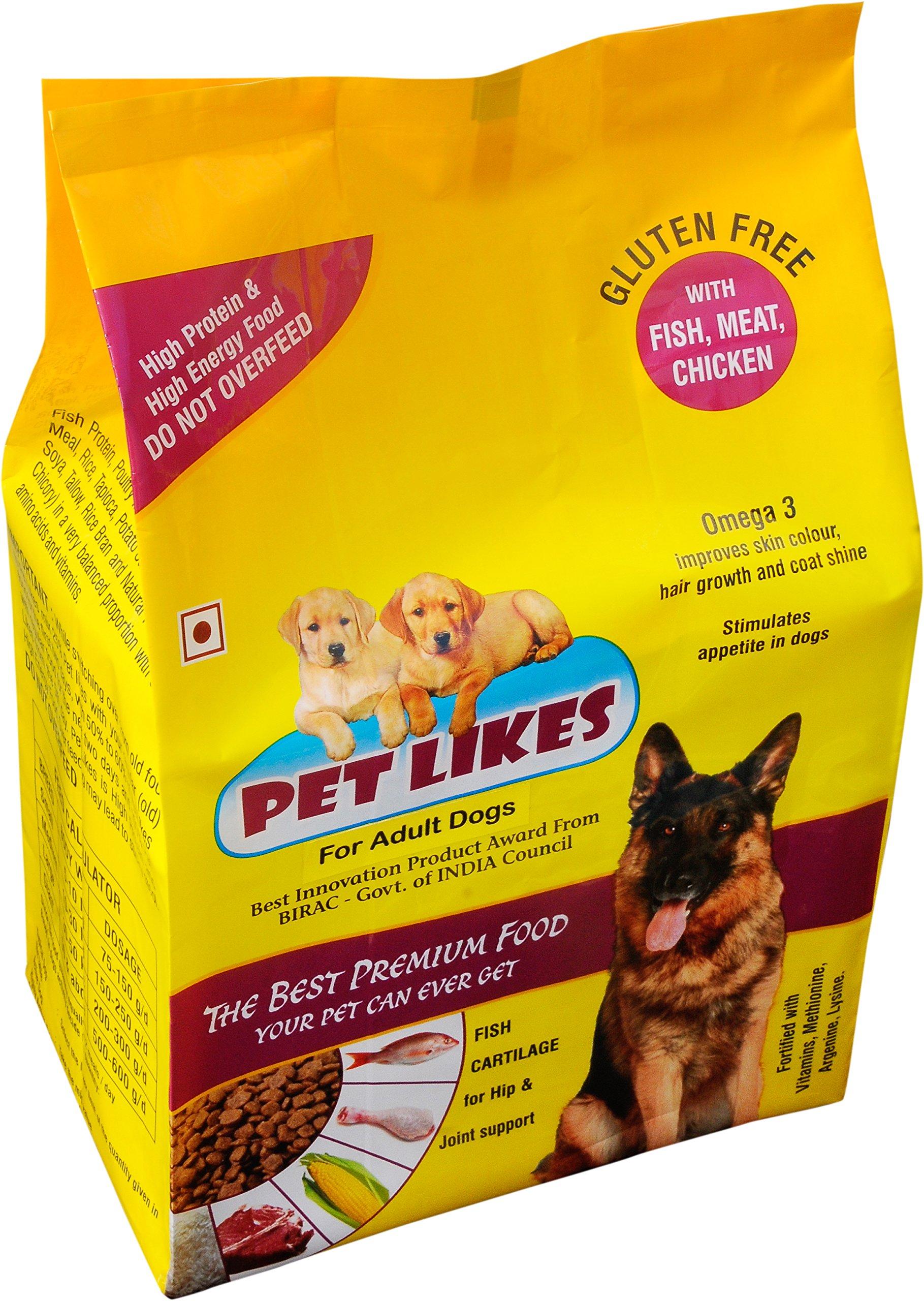 Pet Likes for Adult Dogs, 4 kg (B07BLYTZ18) Amazon Price History, Amazon Price Tracker