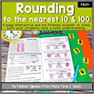 Rounding to the Nearest 10 and 100 Theme Booklet