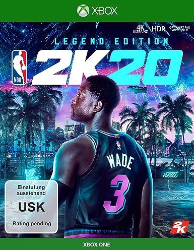 NBA 2K20 NBA 2K20 Legend Edition- Xbox One [Importación alemana]: Amazon.es: Videojuegos