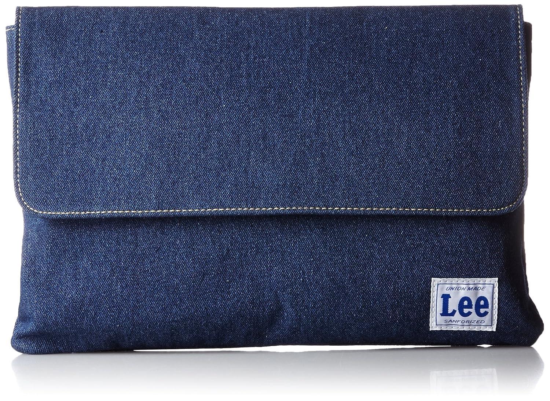 Amazon | [リー] Lee リメイク風デニムジーンズ かぶせクラッチバッグ 320-140 03 (ネイビーデニム) | クラッチバッグ