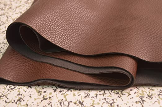 Wento 1.0mm Dark Brown Leather,wearproof Sofa Leather Fabric,furniture  Leather,car Seat Leather Fabric,1.0mm Thickness Upholster Pleather for ...