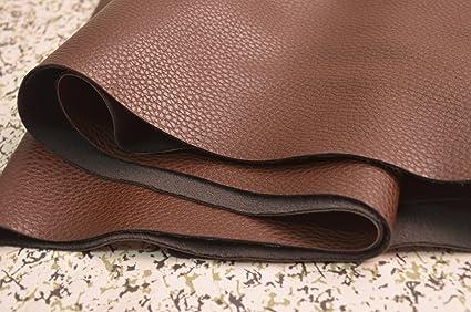 Amazon.com: Wento 1.0mm Dark Brown Leather, wearproof Sofa Leather ...