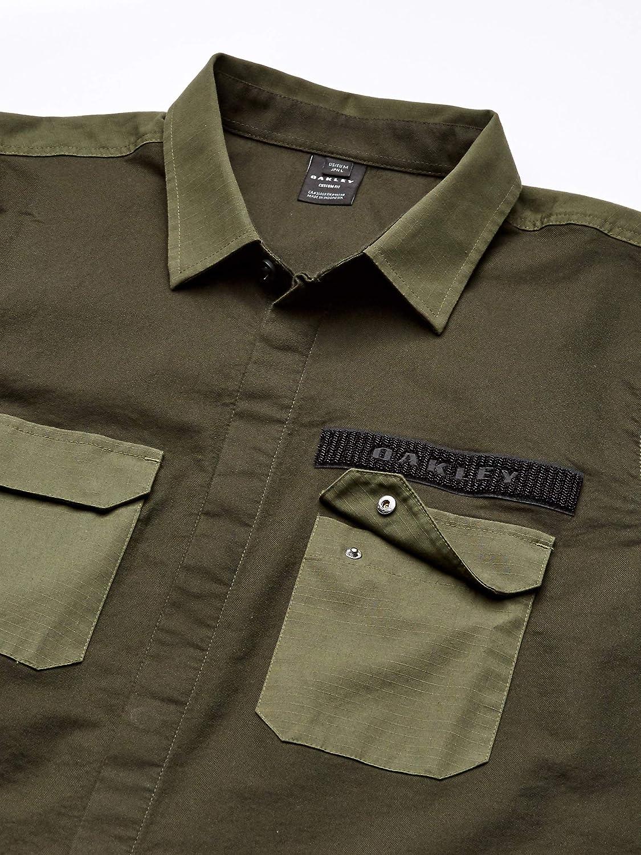 Oakley Hybrid Utility - Camisa para hombre - Gris - Medium: Amazon.es: Ropa y accesorios