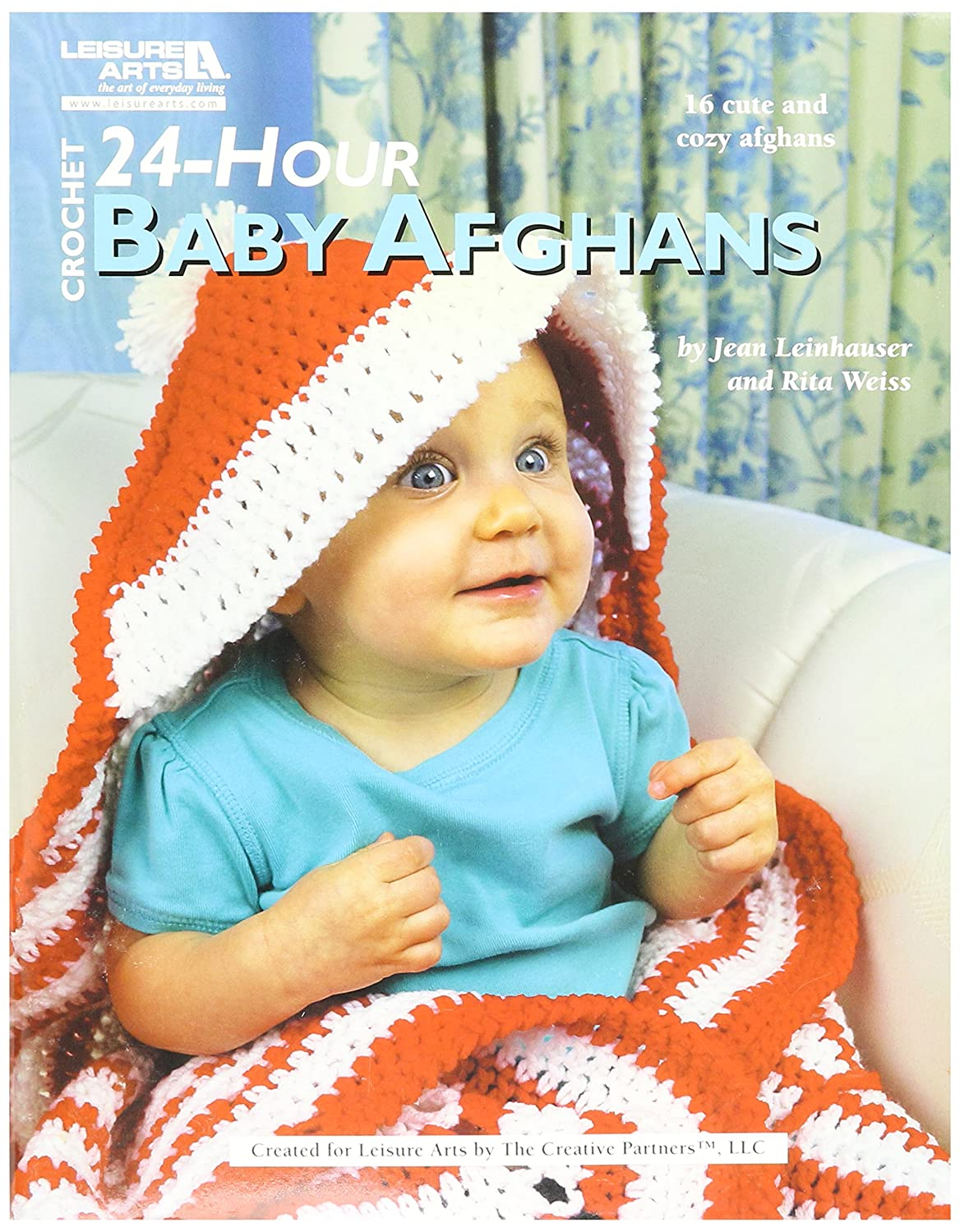 Amazon Leisure Arts 24 Hour Baby Afghans Book