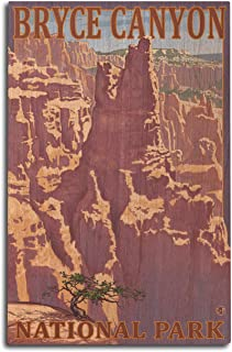product image for Lantern Press Bryce Canyon National Park, Utah - Scene #1 (10x15 Wood Wall Sign, Wall Decor Ready to Hang)