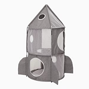 Catit Vesper Rocket Cat Tower, Grey, 42002