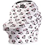 "Disney Collection The Original Milk Snob Infant Car Seat Cover and Nursing Cover Multi-Use 360° Coverage Breathable Stretchy""Minnie Mouse"""