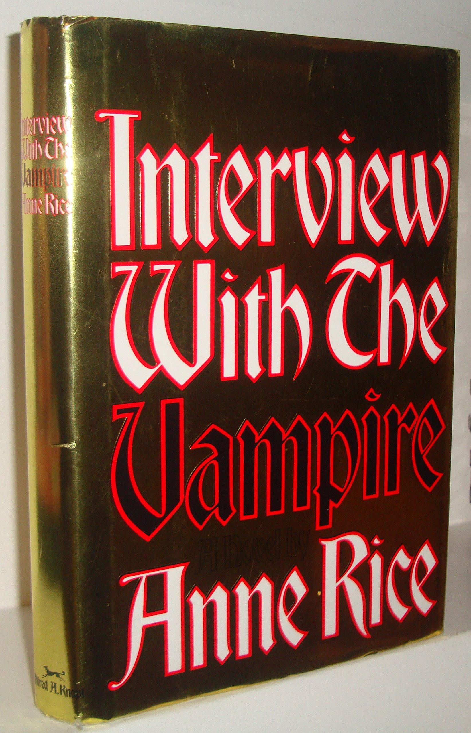 Interview Vampire Deckle Edge Publisher