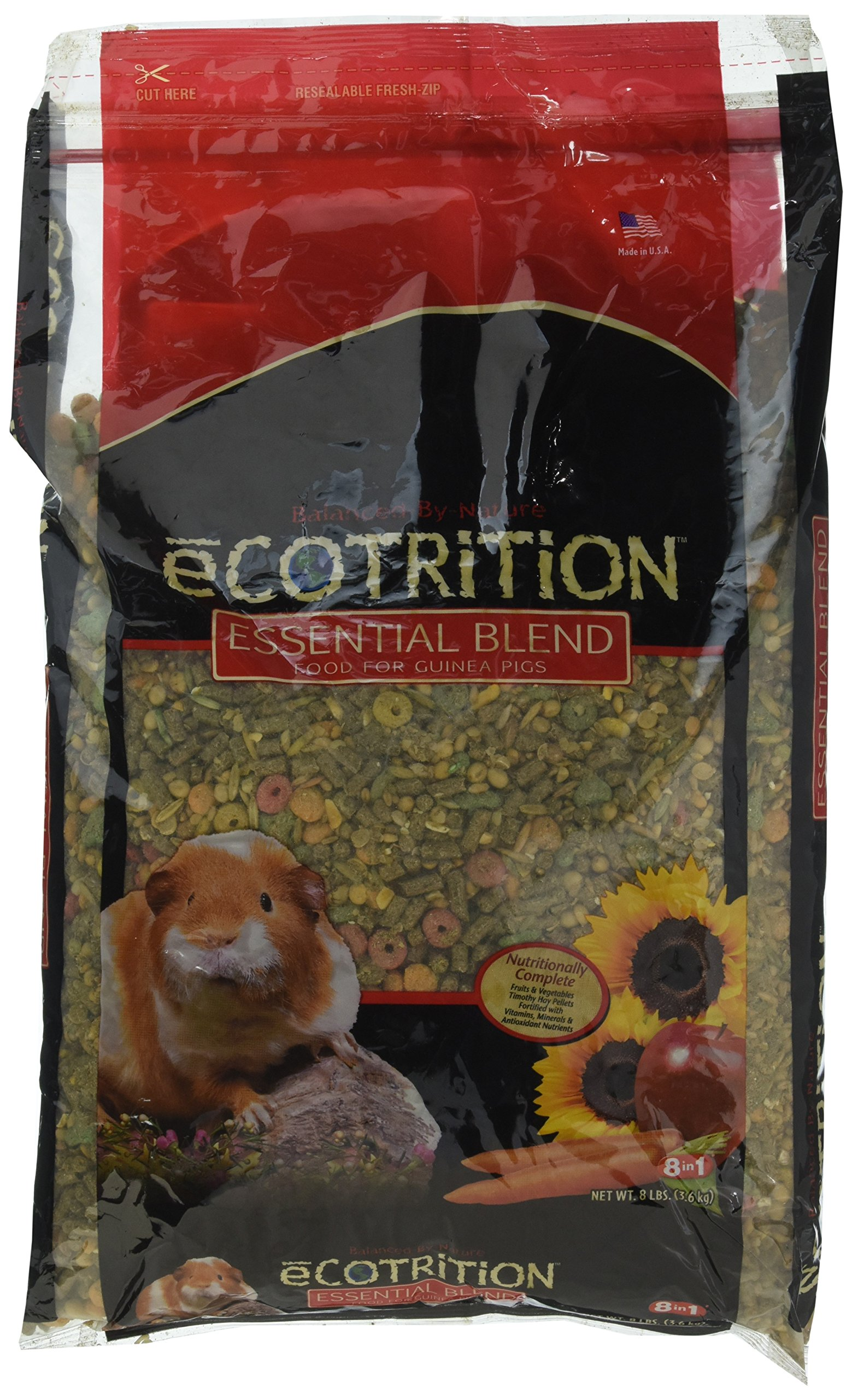 Ecotrition P-84126 Essential Blend For Guinea Pigs, Any