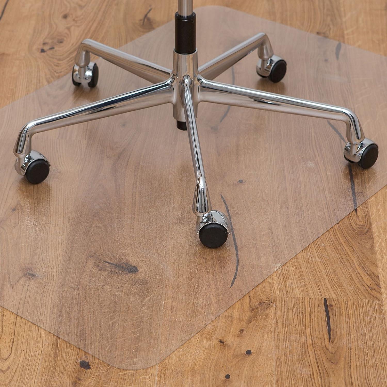 KAISER Tappeto protettivo salvapavimento | Made-In-Germany | per pavimento in moquette | 75 x 120 cm | Ecologico PET KAISER plastic GmbH