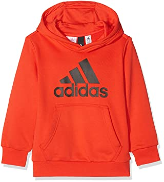 adidas Children's YB Logo Hooded Sweater, Children's, CF6530