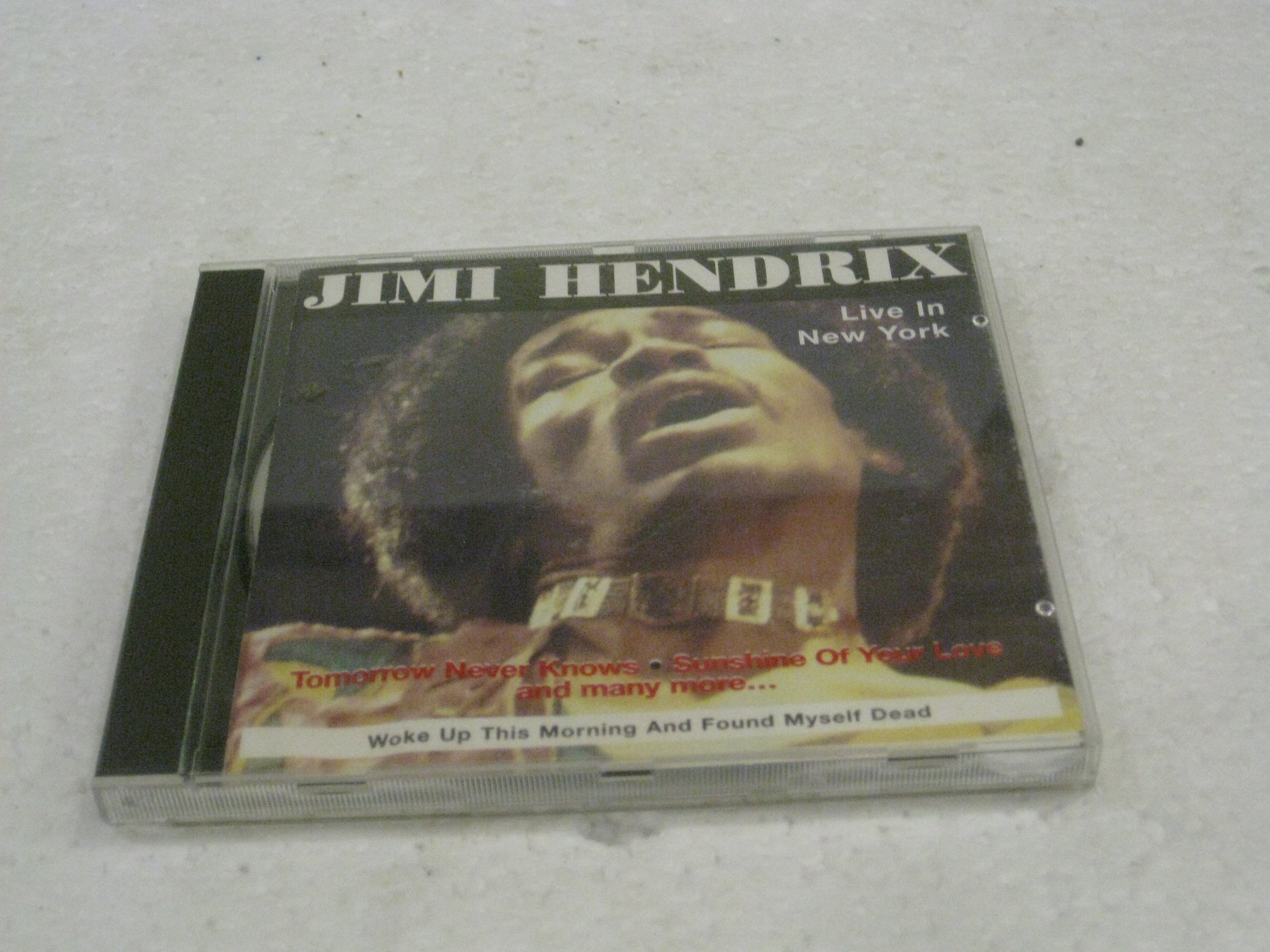 Jimi Hendrix Live In New York Woke Up This Morning And Found Myself Dead by
