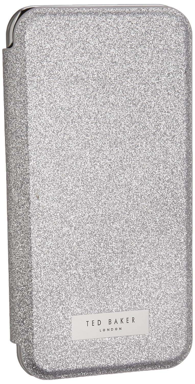 Ted Baker iPhone 7/6/6s Mirror Folio Phone Case, Cream, Floral Gem Pattern, Mavis Gem Garden 38717 from SS17 Collection