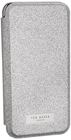 4fc908b94185 Image Unavailable. Image not available for. Color  Ted Baker iPhone 7 6 6s  Glitter Mirror Folio Phone Case ...