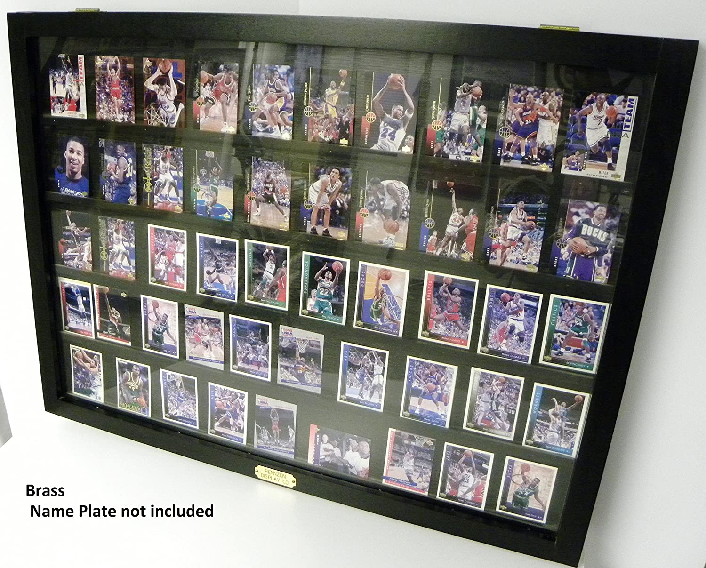 Amazon.com : 50 Baseball card displays case will hold 50 ungraded ...