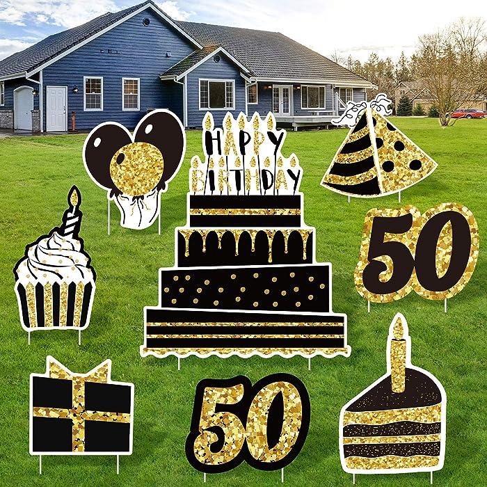 The Best 50Th Birthday Decor