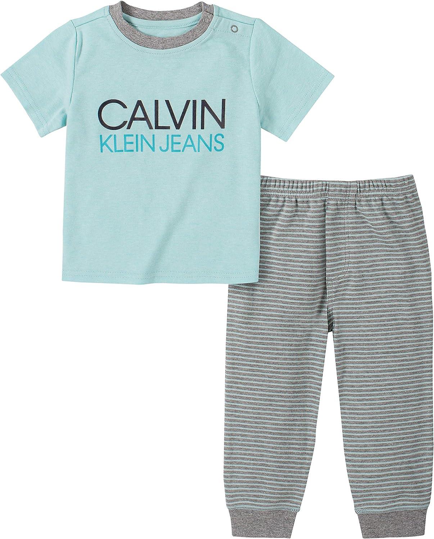 Calvin Klein Baby Boys' 2 Pieces Pants Set
