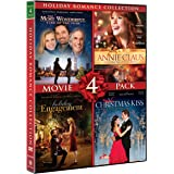 Holiday Romance Collection Movie 4 Pack (A Christmas Kiss, Holiday Engagement, The Most Wonderful Time Of The Year, Annie Cla