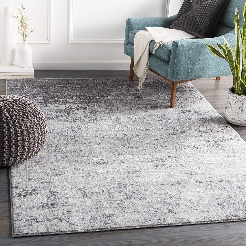 Amazon Com Artistic Weavers Choukri Area Rug 7 10 X 10 3 Silver Gray Furniture Decor