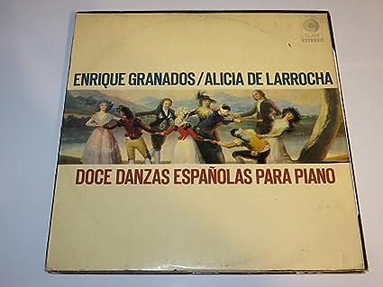 Amazon.com: DOCE DANZAS ESPANOLAS PARA PIANO: Music