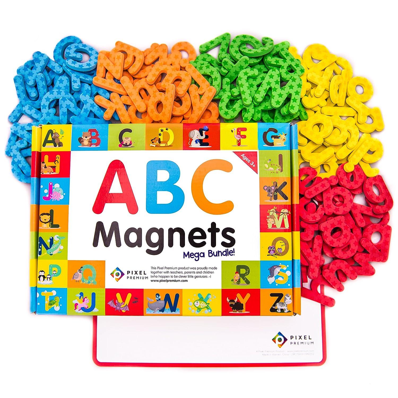 Amazon Pixel Premium ABC Magnets for Kids Gift Set 142