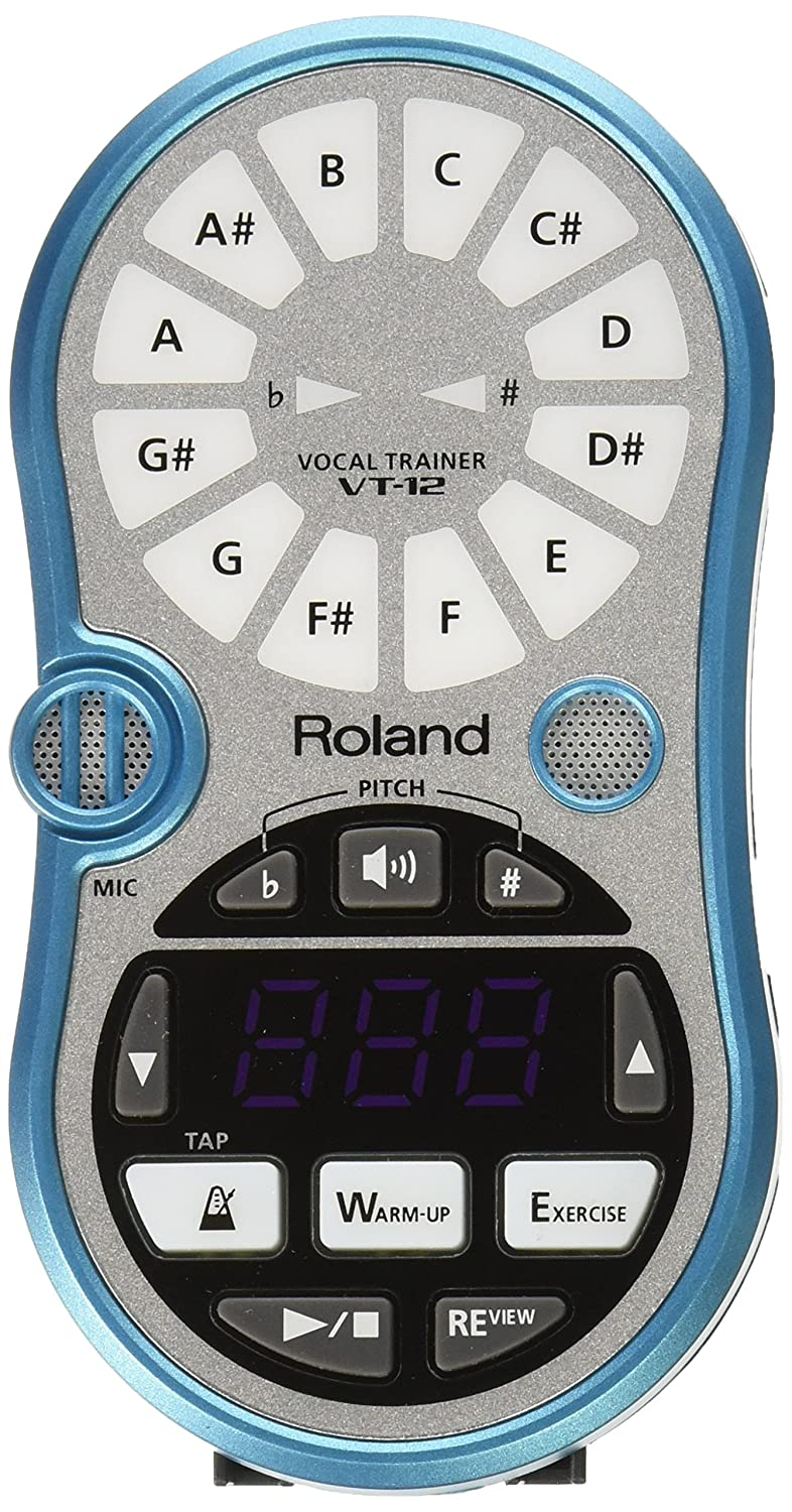 Roland VT12BK VT-12 Vocal Trainer, Black