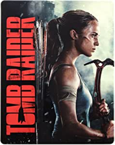 Tomb Raider Steelbook [Blu-Ray]+[Blu-Ray 3D] [Region Free] (Audio français. Sous-titres français)