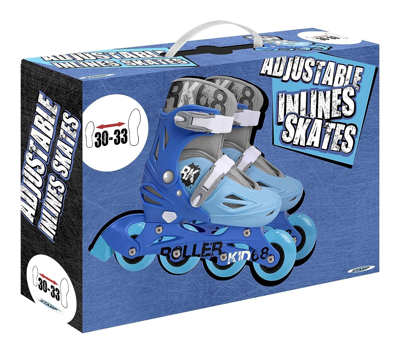 blau Stamp SM250301/Inline-Skates f/ür Jungen