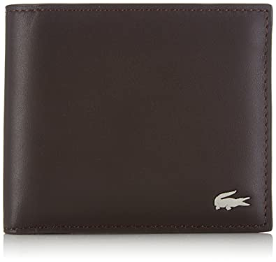 348f49ea174 Lacoste Men's NH1113FG Wallets Brown (028): Amazon.co.uk: Shoes & Bags