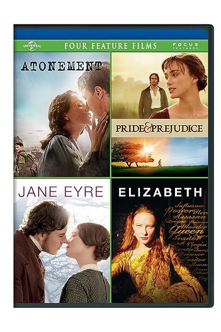 Amazon.com: Atonement / Pride & Prejudice / Jane Eyre / Elizabeth ...