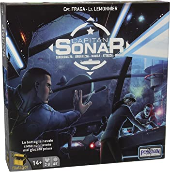 Matagot Juego de Mesa Capitán Sonar (Idioma español no garantizado): Amazon.es: Juguetes y juegos