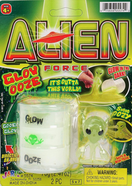 Glow In The Dark Bouncy Ball Silly Putty • Alien Ooze Green /& Purple • 2 Pack