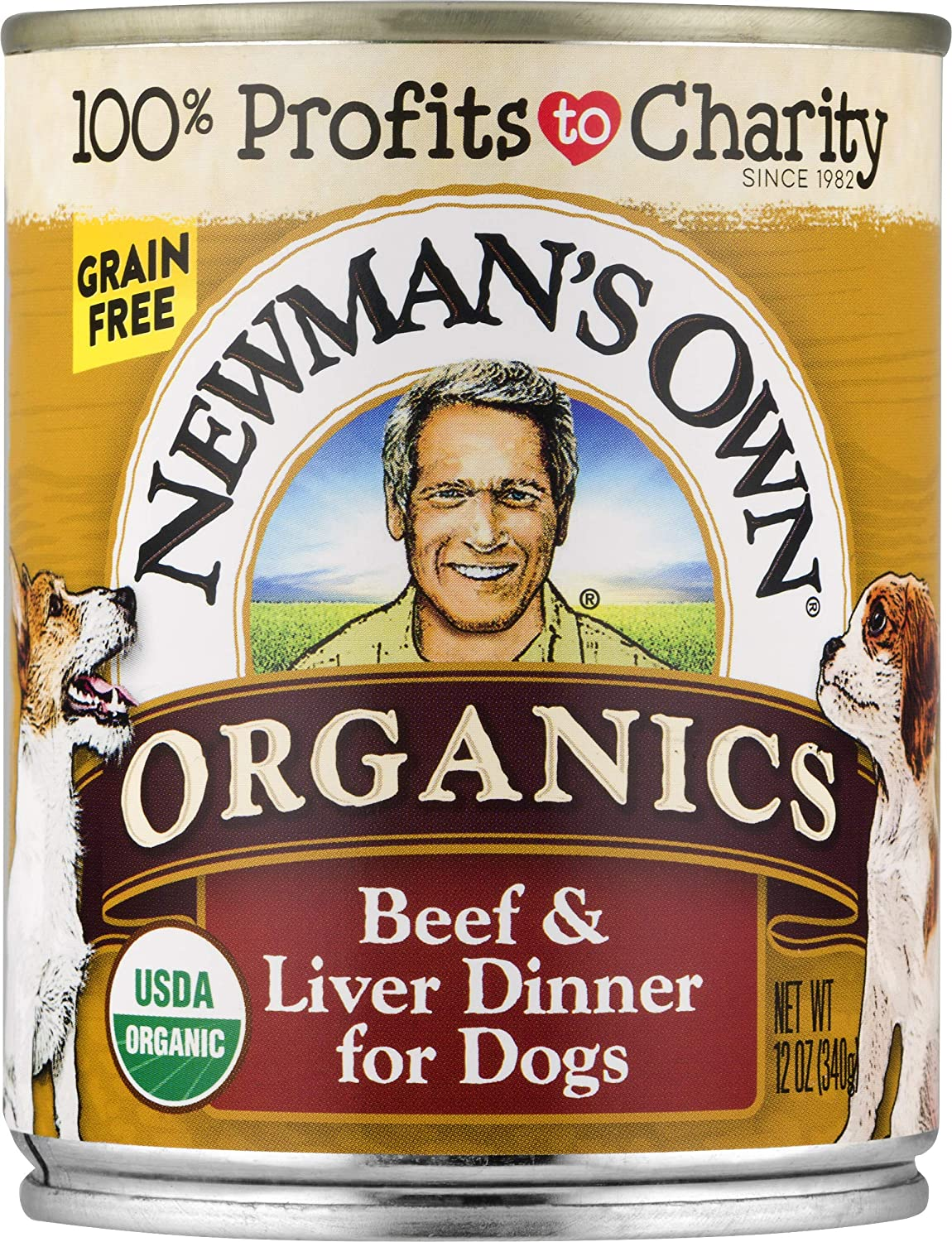 Newman'S Own Organics Beef & Liver Dinner For Dogs