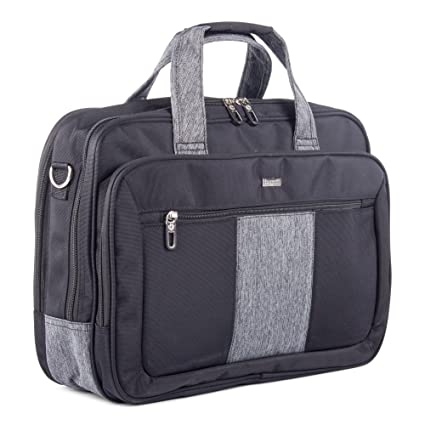 Amazon.com  Bugatti Matt Double Gusset Executive Briefcase ... eb0b48619072f