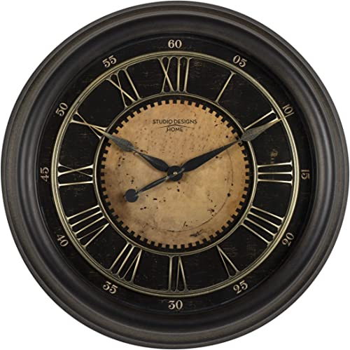 Studio Designs Home 24″ Classic Villa Wall Clock