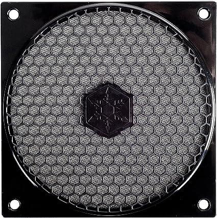 SilverStone SST-FF121B - Rejilla para ventilador de 120mm y filtro ...