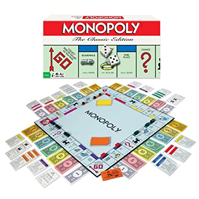 Monopoly Board Game The Classic Edition: Game: Toys & Games
