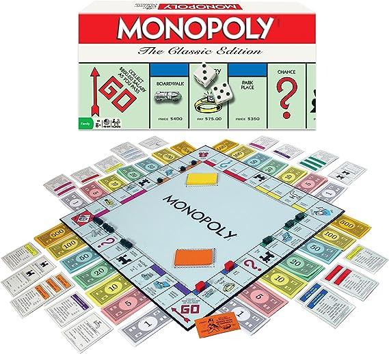 Monopoly: The Classic Edition: Amazon.es: Juguetes y juegos