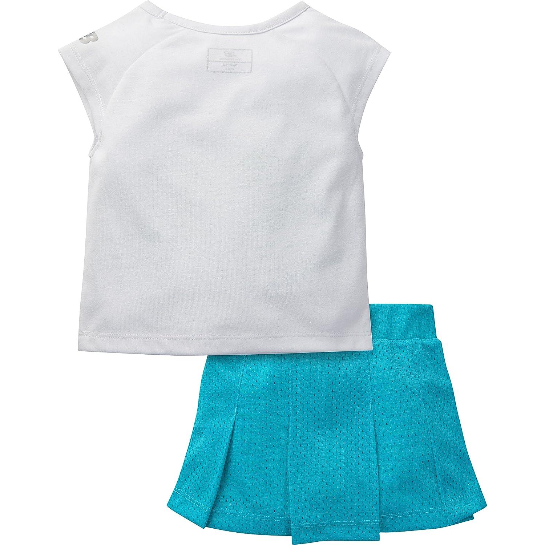 New Balance Girls Graphic T-Shirt and Skort