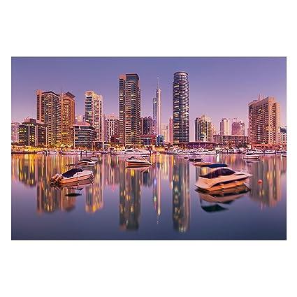 Bilderwelten Fotomural Premium - Dubai Skyline and Marina ...