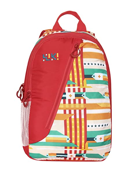 Wiki By Wildcraft Red Kids Bag 3 5 Years Age Amazon In Bags