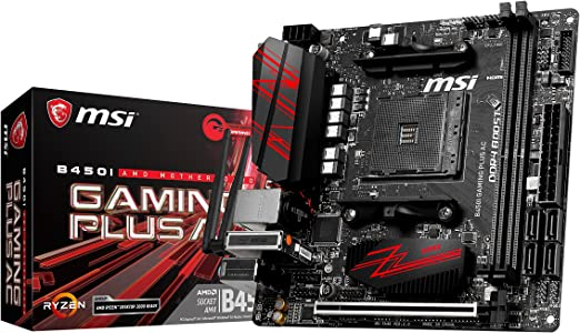 MSI B450I Gaming Plus AC - Placa Base Gaming (AM4, AMD B450, 1 x ...