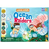Logic Roots Ocean Raiders Number Sequencing & Addition Game - Fun Math Board Game and STEM Toy for 5 - 7 Year Olds, Perfect E