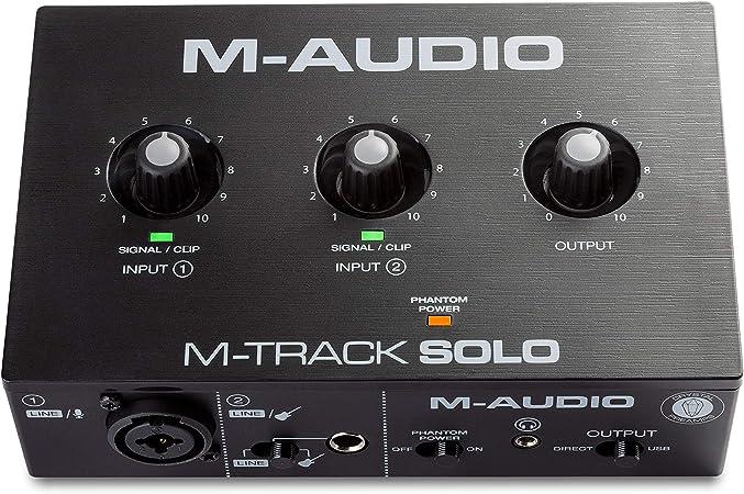 M-Audio M-Track Solo – USB Audio Interface